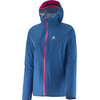 Salomon W's Bonatti WP Jacket Dolomite Blue